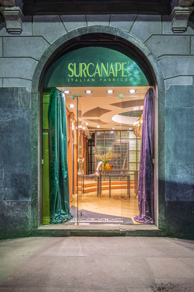 Showroom Surcanapè Milano